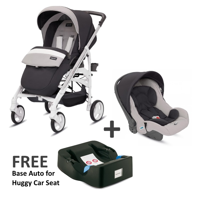 (ING3538GRFTS) Inglesina, Trilogy Travel System - Grafite