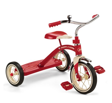 "(RF34B) Radio Flyer, Classic Red - 10"" Tricycle"