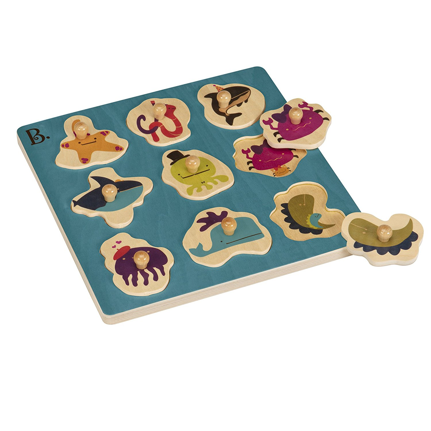(BX1263Z) B. Toys, B Underwater Puzzle