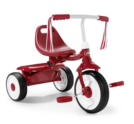 Radio Flyer, Fold 2 Go Trike - Red (RF415)