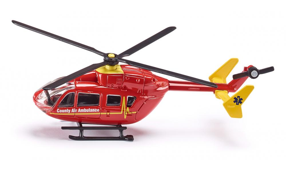 (S1647) Siku, Police Helicopter 1:87