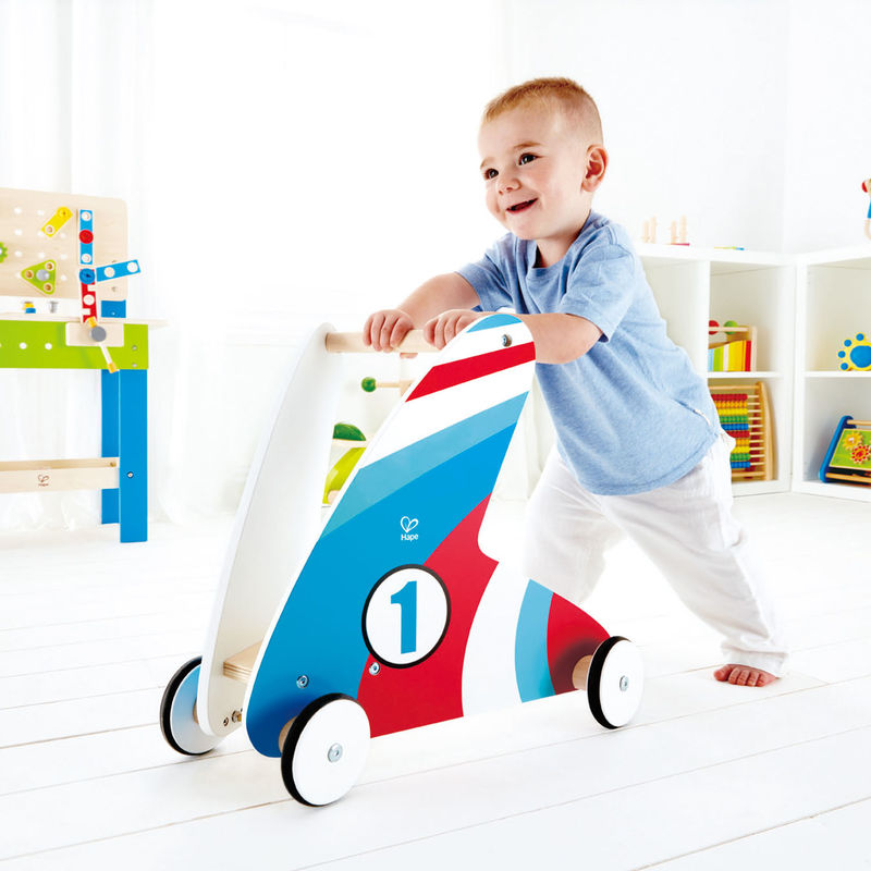 (HP0377) Hape, Step & Stroll - Racing Stripes