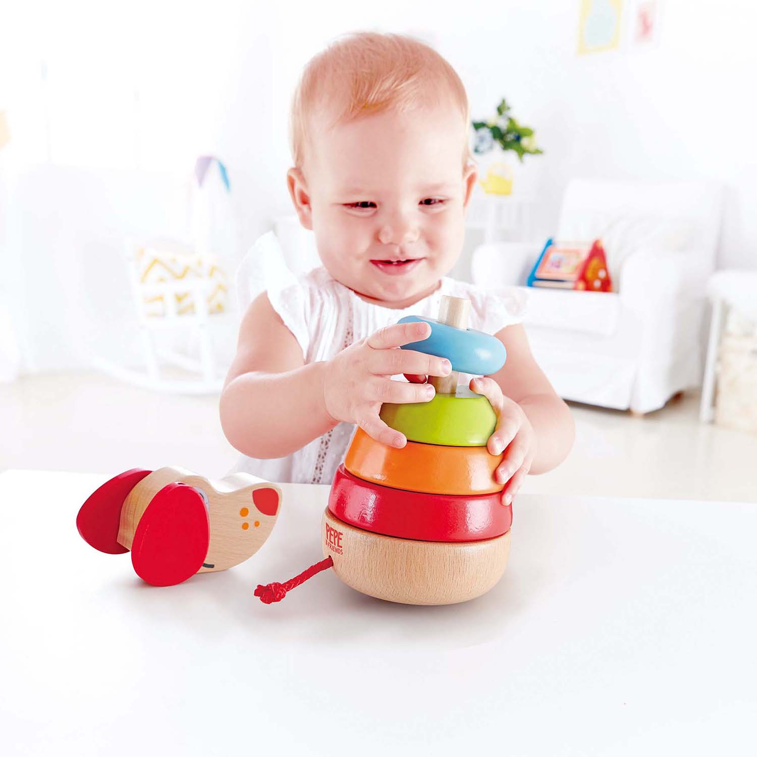 (HP0448) Hape, Pepe Sound Stacker